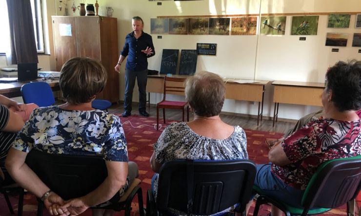2019-es évi előadás sorozat Ősi községben
