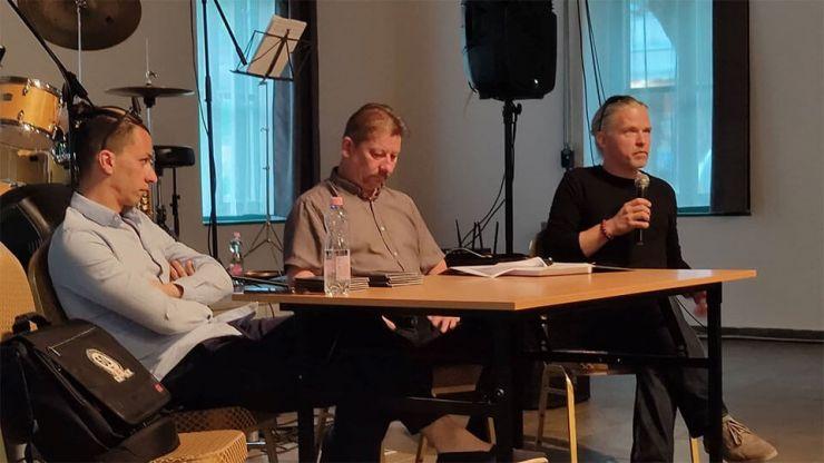 Beszélgetés az Oláh Krisztián Quartet  koncertje előtt