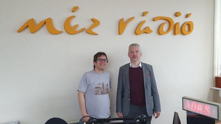 Interjú a Méz Rádióban Tóth Istvánnal